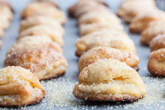 Chałupa sera ciastka z cukierem Obraz Royalty Free