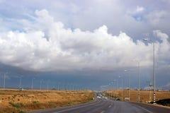 Chaussée de l'Israël Images libres de droits
