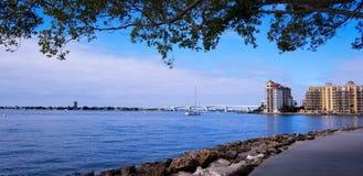 Chaussée de Sarasota Photo stock