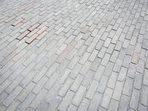Chaussée en bois de bloc Photographie stock