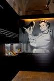 Chausse l'exposition dans Vigevano Photos stock