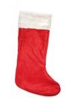 Chaussette de bas de Noël Photos libres de droits