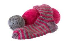 Chaussette de laine Photographie stock