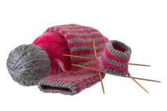 Chaussette de laine Images stock