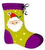 Chaussette de Noël Images libres de droits