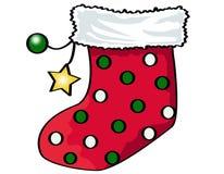 Chaussette de Noël Photo stock