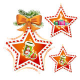 Chaussette de Noël Photos stock