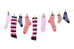 Chaussettes Photographie stock libre de droits
