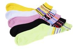 chaussettes Photo libre de droits