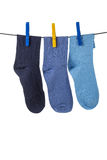 Chaussettes Photo stock