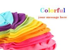 chaussettes colorées du gosse s de cheville Photos libres de droits