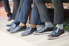Chaussettes d'affaires Images stock