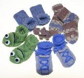 Chaussettes de bébé d'enfants, Photographie stock libre de droits