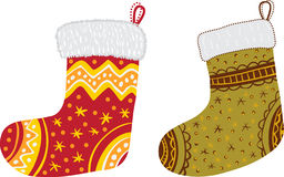 Chaussettes de Noël Photo stock