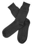 Chaussettes noires images libres de droits