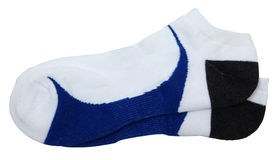 Chaussettes sportives d'isolement Photographie stock