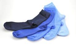 Chaussettes sur un fond blanc le 11 septembre 2016 Images stock