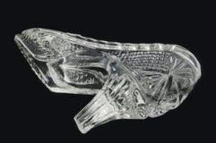 Chausson en verre relâché Image stock