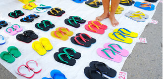 chaussons Images stock