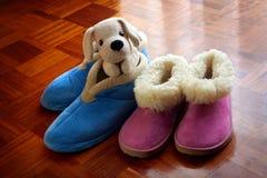 Chaussons chauds Photo stock