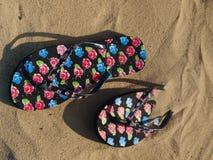 Chaussons de couleur images stock