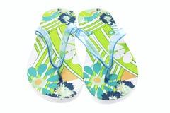 chaussons de paires Photographie stock libre de droits