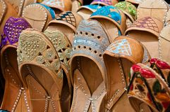 Chaussons marocains Photographie stock