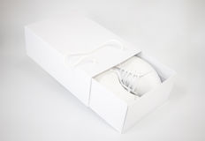 Chaussure blanche Photographie stock libre de droits
