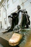 Chaussure chanceuse de John Harvard Photographie stock libre de droits