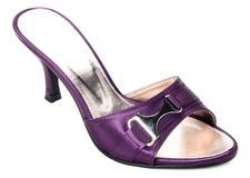 chaussure chaussure de femme sur un fond Image stock
