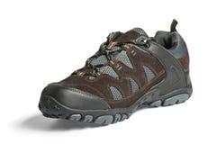 Chaussure courante d'isolement sur le blanc Image libre de droits