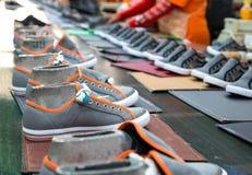 Chaussure d'espadrille Photographie stock libre de droits