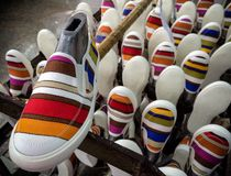 chaussure d'espadrilles Photographie stock