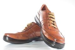 Chaussure de Brown Photo libre de droits