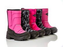 Chaussure de chéri de l'hiver Image libre de droits