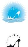 chaussure de conception Image libre de droits