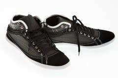 Chaussure de course d'isolement d'hommes Image stock
