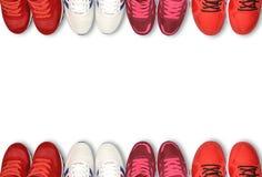 Chaussure de course, espadrille ou entraîneur Photo libre de droits