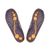 Chaussure de course neuve Photos stock