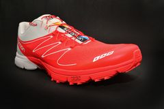 Chaussure de course de traînée Image stock