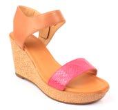 Chaussure de femmes Photographie stock