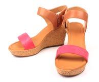 Chaussure de femmes Image libre de droits