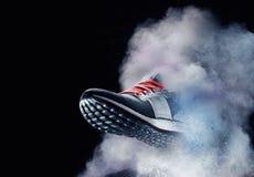 Chaussure de la poussière Images libres de droits