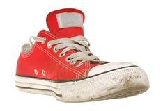 Chaussure de sport d'isolement Images libres de droits
