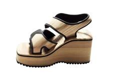 Chaussure de sport de femme Images libres de droits