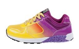 Chaussure de sport sur le fond blanc Photo stock