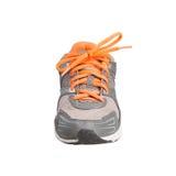 Chaussure de sport sur le fond blanc Images stock