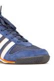 Chaussure de sport sur le fond blanc Image libre de droits