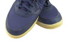 Chaussure de sport sur le fond blanc Photographie stock libre de droits