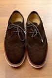 Chaussure de suède Images libres de droits